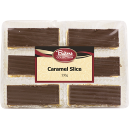 Photo of Bakers Collection Caramel Slice 6pk