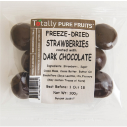 Photo of Totally Strawberries Dark Chocolate Dipped Strawberries 100g
