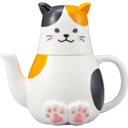 Photo of JSTYLE Calico Cat Tea For One Set