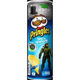 Photo of Pringles Potato Crisps Salt & Vinegar 134g
