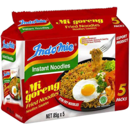 Photo of Indomie Instant Noodles Fried 5x85gm