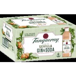 Photo of Tanqueray Sevilla Gin & Soda 5.3% 24x275ml