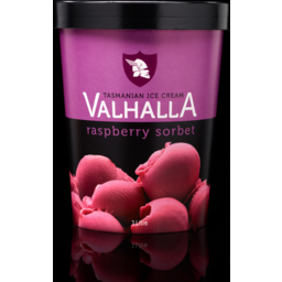 Photo of Valhalla Raspberry Sorbet 1lt