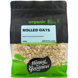 Photo of Honest To Goodness Organic Rolled Oats