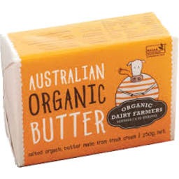 Photo of Australian Organic Salted Butter 250g