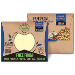 Photo of Green Vie - Cheese - Mozzarella - Vegan Slices - 180g