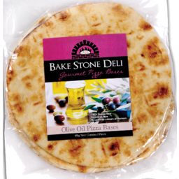 Photo of Bake Stone Deli Olive Oil Pizza Bases 450gm