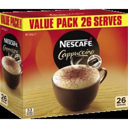 Photo of Nescafe Cafe Menu Cappucino 26 Pack