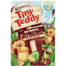 Photo of Arnott's Biscuits Tiny Teddy Chocolate Coated (200g)