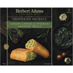 Photo of Herbert Adams Savoury Rolls Cheese & Spinach 2pk