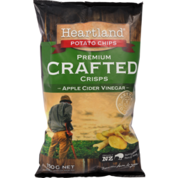 Photo of Heartland Potato Chips Cider Vinegar 150g