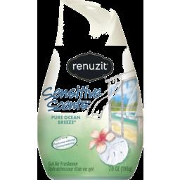 Photo of Renuzit Sensitive Scents Gel Air Freshener Pure Ocean Breeze 198g