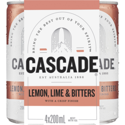 Photo of Cascade Lemon Lime Bit Can 200 4pk