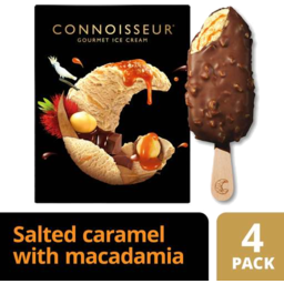 Photo of Connoisseur Murray River Salted Caramel With Macadamia 4pk