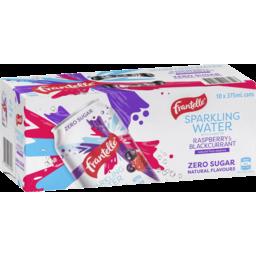 Photo of Frantelle Sparkling Water Raspberry & Blackcurrant 10x375ml