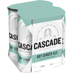 Photo of Cascade Dry Ginger Ale Cans