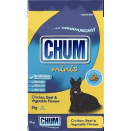 Photo of Chum Crunchy Chicken Beef & Vegetable 8kg