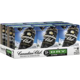 Photo of Canadian Club & Dry Premium Strength 9% 6 X 4 X 250ml Can