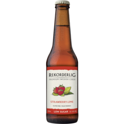 Photo of Rekorderlig Strawberry Lime Low Sugar Bottles
