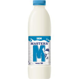 Photo of Masters Skim Bottle 1l