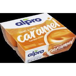 Photo of Alpro Sweet Creamy Caramel Soy Dessert 125g 4pk