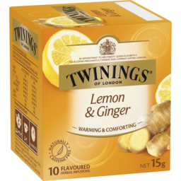 Photo of Twinings Lemon & Ginger Tea 10pk