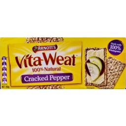 Photo of Arnotts Vita Weat Crispbread Cracked Pepper 250g