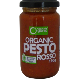 Photo of Abs Org Pesto Rosso 190g