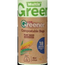 Photo of Multix Bag Comp Grn Med 18s