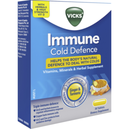 Photo of Vicks Immune Cold Defence Tablet 30x