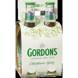 Photo of Gordons Elderflower Spritz Bottle 330ml 4 Pack