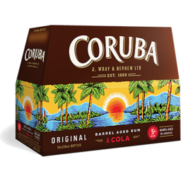 Photo of Coruba & Cola 5% Bottles