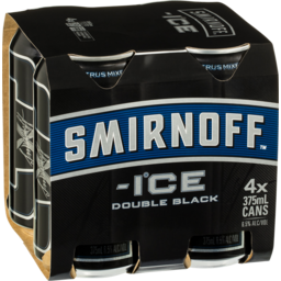Photo of Smirnoff Ice Double Black Cans