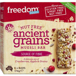 Photo of Freedom Foods Ancient Grain Muesli Bar 174gm
