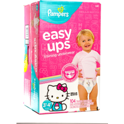 Photo of Pampers Easyup 3t-4t Giant Girls