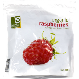 Photo of Viking Frozen Organic Raspberries 400gm