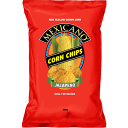 Photo of Mexicano Corn Chips Jalapeno 300g