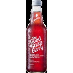 Photo of The Good Apple Organic Sparkling Raspberry Juice 330ml