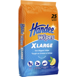 Photo of Handee Multi Purpose Wipes Xl 25 Pack