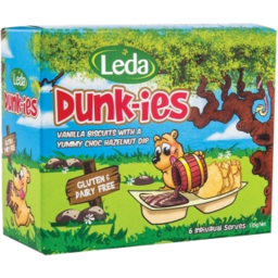 Photo of Leda Dunkies H/Nut G/F 6pk 135g
