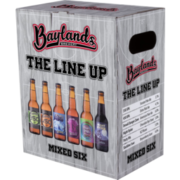 Photo of Baylands The Line Up Mixed 6 Pack