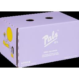 Photo of Pals Zero Alcohol Rtd Peach Passionfruit & Soda 6x330ml