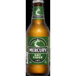 Photo of Mercury Cider Dry Bottles