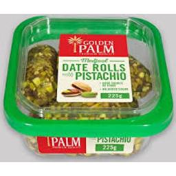Photo of Golden Palm Pistachio Date Rolls 225g