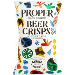 Photo of Proper Crisps Beer Crisps 150g