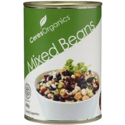 Photo of Ceres Org Mixed Beans 400g