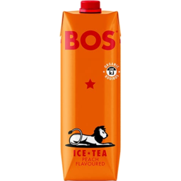 Photo of Bos Brands  Ice Tea – Peach Flavoured