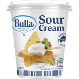 Photo of Bulla Sour Cream 200ml