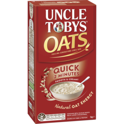 Photo of Uncle Tobys Oats Quick 1kg