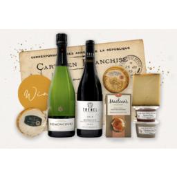 Photo of French Cheese & Wine Hamper